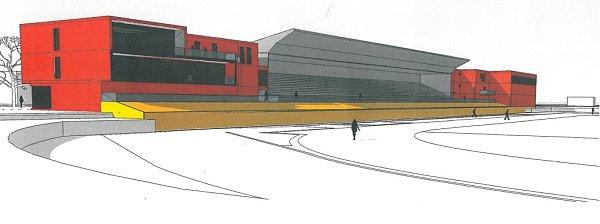 Návrh opravené a rozšířené podoby stadionu již existuje.