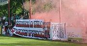 Fotbalová FORTUNA:NÁRODNÍ LIGA: FK Pardubice - FC Hradec Králové.