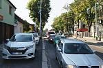 Dopravní kolaps kvůli testům na koronavirus