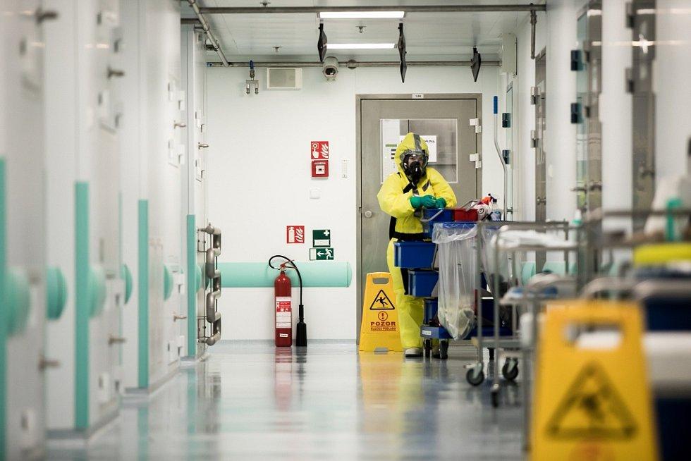 I pracovníci úklidu musí dodržovat všechny podmínky bezpečnosti.