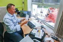 Autogramiáda hráčů HC Dynamo Pardubice a majoritního vlastníka pana Petra Dědka v pardubické enteria areně.