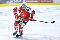 Hokejový útočník Andrej Kosticyn (HC Dynamo Pardubice).