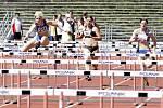 MČR atletiky družstev na pardubickém letním stadionu