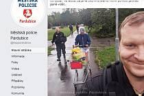 Z Facebooku pardubické městské policie.