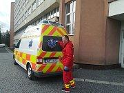 Vazební jednání s podezřelým probíhalo přímo v nemocnici.