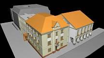 V anketě mezi občany vyhrál historizující návrh architekta Pavla Maléře.