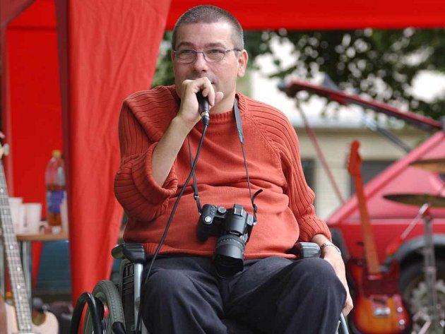 Loňské setkání vozíčkářů v Centru Parník