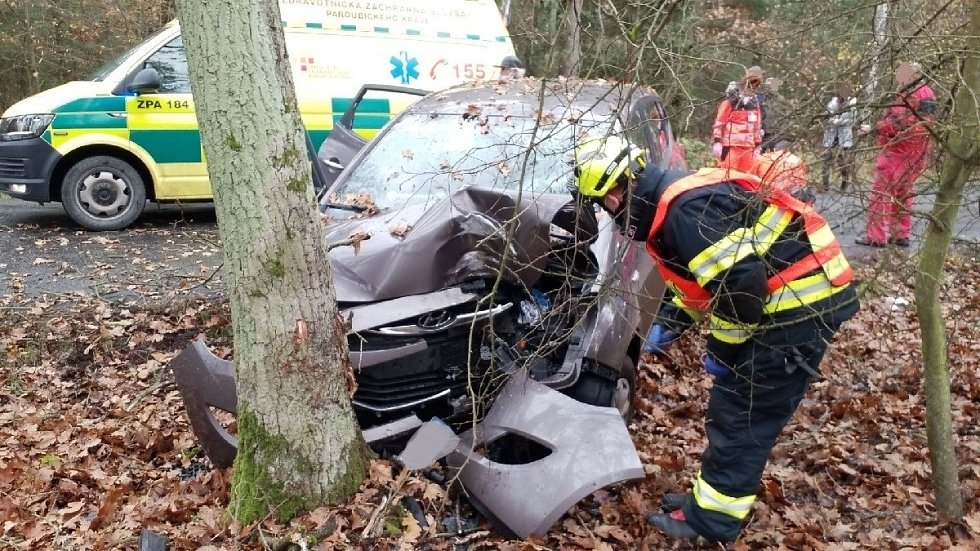 Tragická nehoda u Kladrub nad Labem