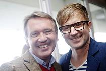 Zbigniew Czendlik a Petr Kotvald na Velké pardubické 2014