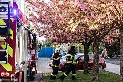 V ulici Erno Košťála naštěstí nehořelo. Šlo o zapomenutou kaši na plotně.