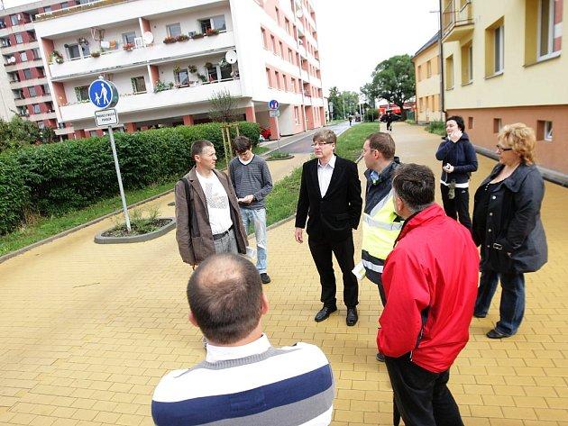 Rokycanovu ulici navštívila odborná komise