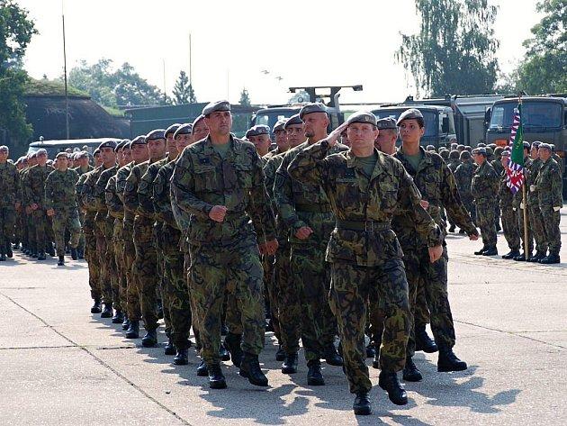 14. brigáda logistické podpory si připomněla páté výročí existence