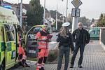 Opilý zastupitel Lázní Bohdaneč Jan Vanáč způsobil dopravní nehodu. Z místa utekl, zpět jej eskortovala policejní hlídka. Nadýchal 3,35 promile alkoholu.