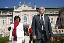 Prezidentská návštěva v Nových Hradech