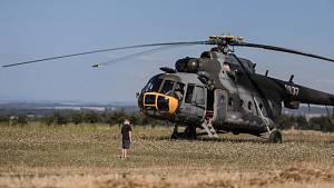 U Libanic nouzově sedal vrtulník Mi-17
