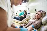 Valentýnské odběry v Pardubické nemocnici