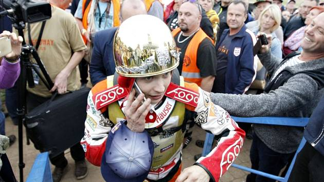 Vítěz 68. ročníku Zlaté přilby - Emil Sayfutdinov