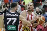 Basketbalové utkání Pardubice - Nymburk