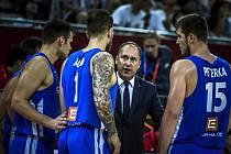 Petr Czudek, asistent trenéra basketbalové reprezentace