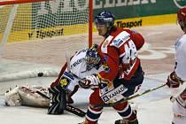 Jan Kolář na 1:0 pro Pardubice