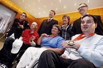 Setkání paralympiků s představiteli Pardubického kraje