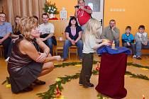 Vánoční spirála v mateřské školce ve Starých Ždánicích