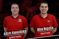 Nové trenérské duo basketbalistů Pardubic