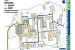 Strukturální plán areálu Pardubické krajské nemocnice