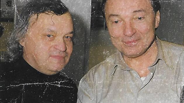 Milan Derner s Karlem Gottem