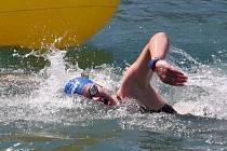 Mladá plavkyně Lenka Štěrbová