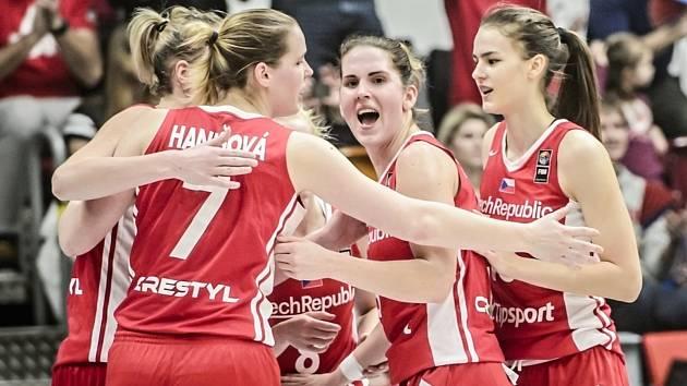 Kolikrát se asi budou české basketbalistky radovat na mistrovství Evropy?