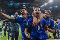 Italská radost po postupu do finále