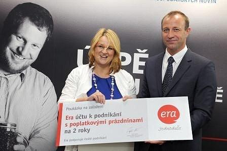 Helena Pirnerová a Petr Lorenc