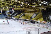 Stadion Ivana Hlinky v Litvínově.