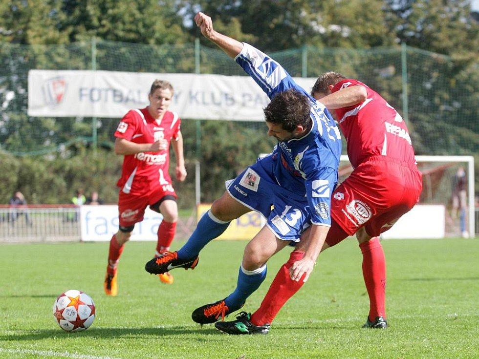 ČFL: Pardubice – Králův Dvůr 3:0