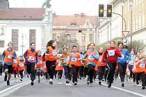 Pardubický vinařský půlmaraton 2012 - Lidový běh