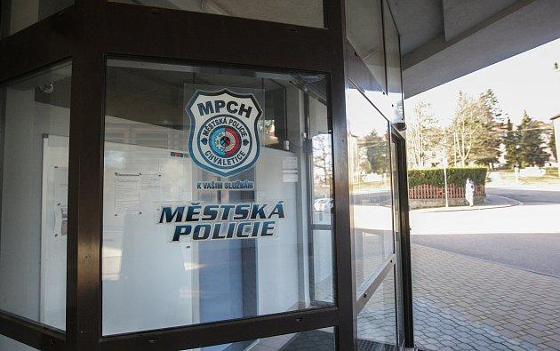 Služena Městské policie ve Chvaleticích.