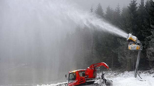 Skipark Červená Voda na Orlickoústecku.
