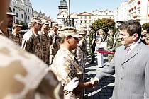 Vojáci 1. kontingentu Armády České republiky se vrátili z Afghanistánu