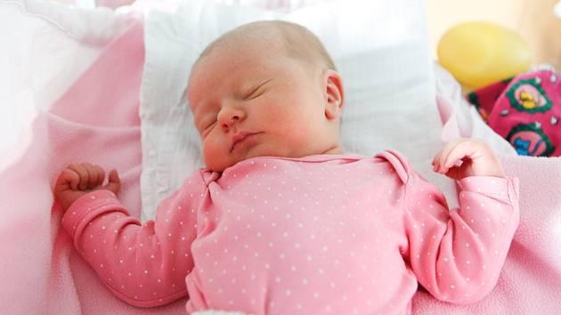 ELLEN PARDUSOVÁ se narodila 9. ledna v 19 hodin a 30 minut. Vážila 3160 gramů a měřila 49 centimetrů. Maminku Libuši podpořil u porodu tatínek Luboš. Na sourozence se těší tříletý Šimon. Rodina bydlí v Chrasti.