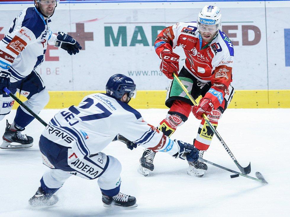 Hokejová extraliga: HC Dynamo Pardubice - HC Vítkovice Ridera.