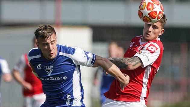 Utkání 20. kola FNL: FK Pardubice - FC Sellier & Bellot Vlašim 0:0