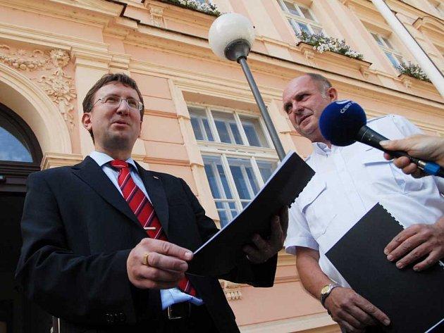 Ivo Toman a Zdeněk Jarý