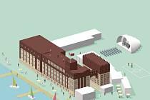 Jedna z možných podob a využití budovy Automotických mlýnů