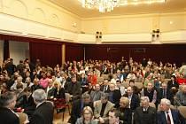 Slavnostní vyhlášení cen Sportovec roku 2008 v KD Hronovická