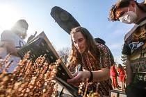 Pohřeb pardubického rodáka a osobnosti undergroundu Lumíra Zilvara Sokola se nesl v duchu hippies tak,  jak si před smrtí sám přál.