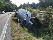 Vážná dopravní nehoda u Stojic.