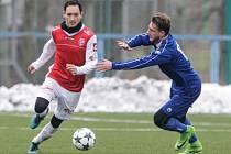 Fotbalová příprava: FK Pardubice - FC Viktoria Otrokovice.