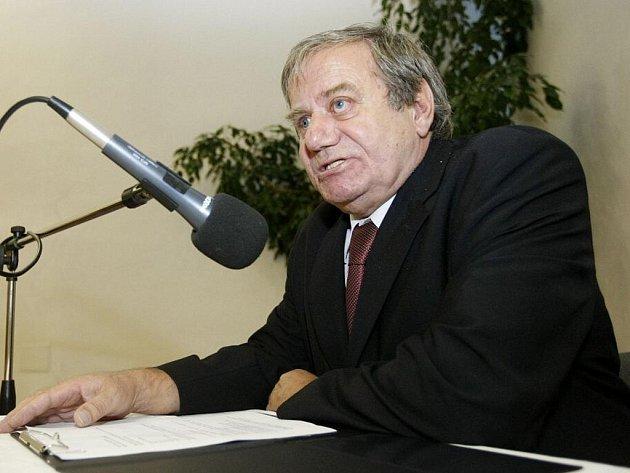 Starosta Polabin Jiří Srbek z Občanské demokratické strany (ODS).