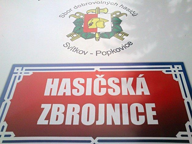 SDH Svítkov - Popkovice má novou zbrojnici